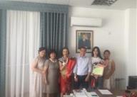 Поздравление от сотрудников филиала с Днем работников связи и информации